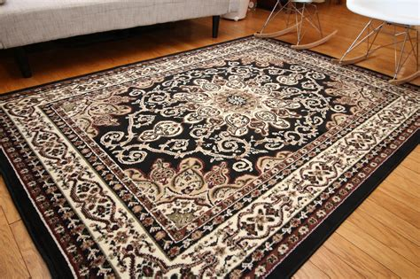generation rugs generations new traditional isfahan area rug 9 x 12 black ebay