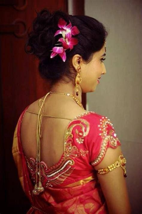 Indian bride's reception hairstyle styled by Swank Studio