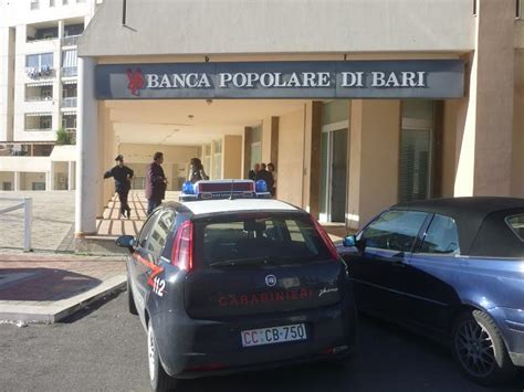 banca popolare di bari matera rapina alla banca popolare di bari di via la martella a