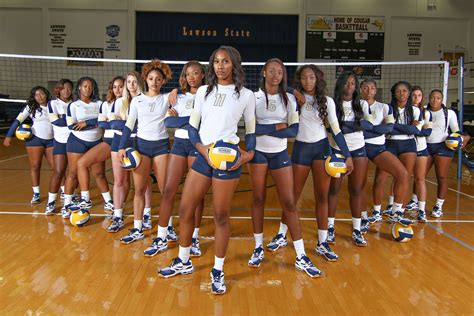 alabama state university volleyball team volleyball lawson state community college