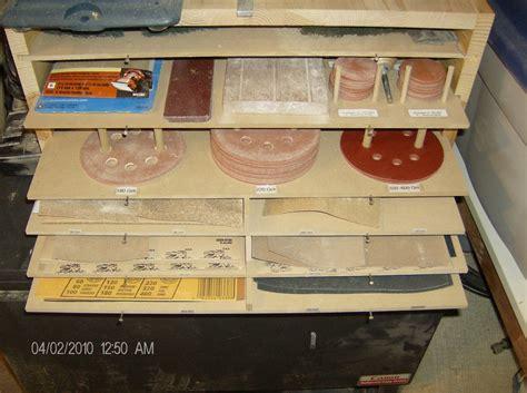 sandpaper storage shelfcabinet  dbourque