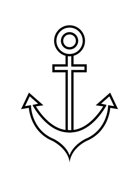 anchor coloring pages pictures to pin on pinterest pinsdaddy