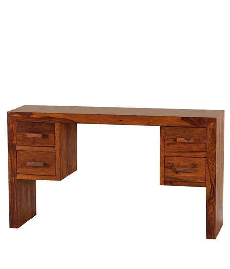 Purchase Desk Computer Desk In Brown Buy At Best Price In India