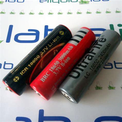 Ultrafire Baterai 18650 3 7v 6000mah Dengan Button Top 18650 ultrafire