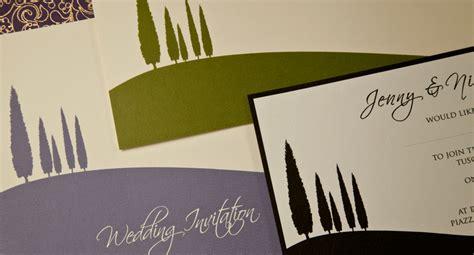 tuscan themed wedding invitations tuscany themed weding invitations