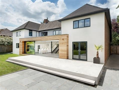 modern extension reshaping a confusing home layout in