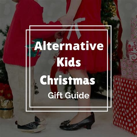 alternatives to gift giving at christmas the alternative gift guide monkey and mouse