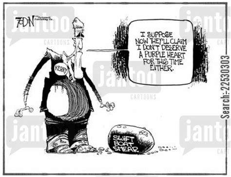 swift boat politician vietnam cartoons humor from jantoo cartoons