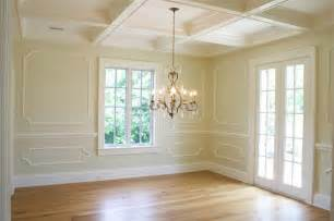 trim moldings transitional dining room tiek built homes