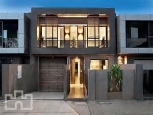 photo of a brick house exterior from real australian home house facade photo 308352 modern