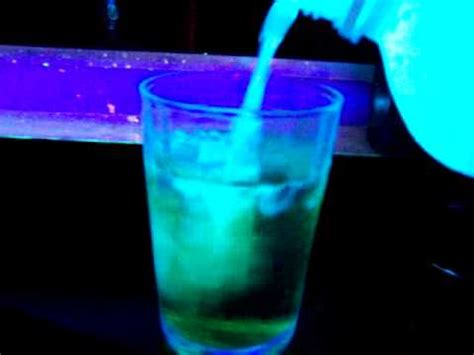 vodka tonic blacklight tonic water and booze