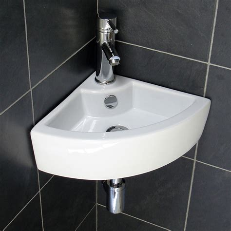 Sinks For Bathroom by Corner Bathroom Sink Designs For Small Bathrooms Home