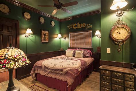clue escape room game bedroom   great escape lakeside