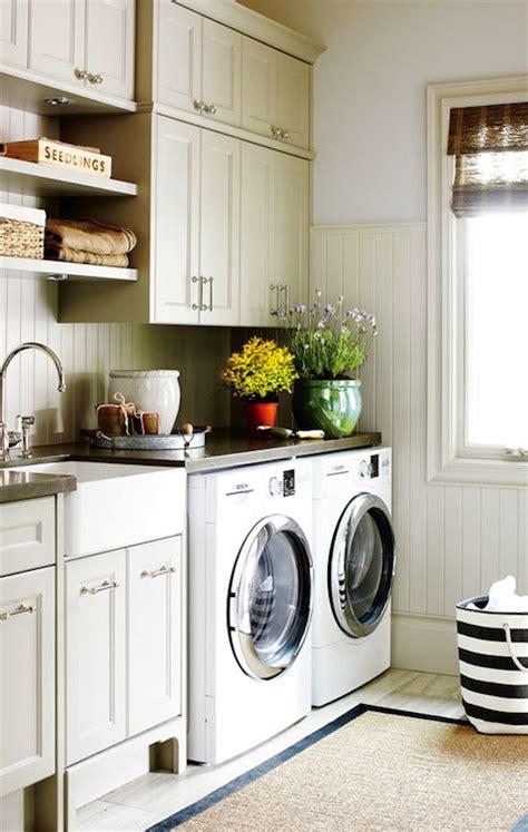 Cottage Laundry Room Ideas by Laundry Room Beadboard Backsplash Cottage Laundry Room