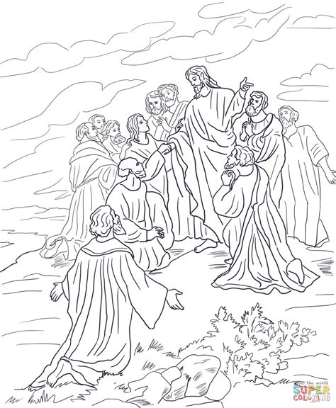 great sheets great commission coloring page free printable coloring pages