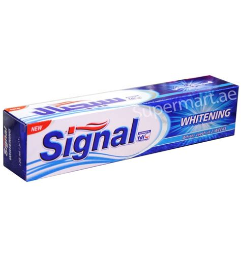Whitening 120ml by Signal Whitening Toothpaste 120ml From Supermart Ae