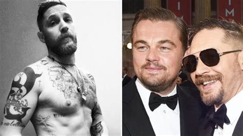 leonardo dicaprio tattoos tom hardy forced to get embarrasssing after losing
