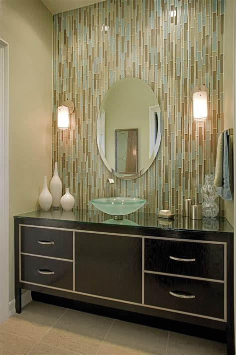 stick on mirror tiles bathroom magnificent glass vessel sinks in bathroom contemporary