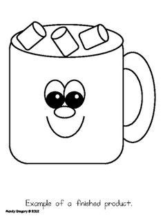 cocoa mug coloring pages printable coloring pages