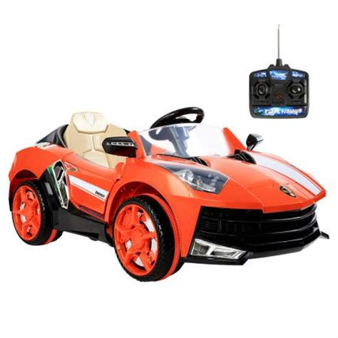 Orange Lamborghini Remote Car Lamborghini Ride On Car With Remote Orange