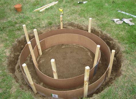 diy concrete pit ideas concrete pit my journey