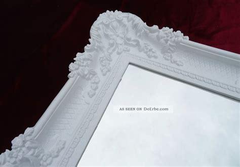 wandspiegel weiß barock birkenholz dekoration