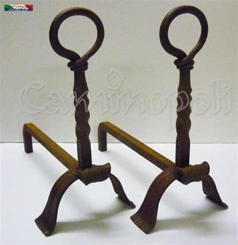 alari per camino alari in ferro battuto per camini antichi caminopoli