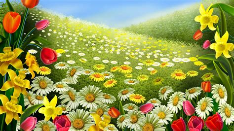 colors of spring 30 plus most beautiful and stylish 3d wallpapers picpulp