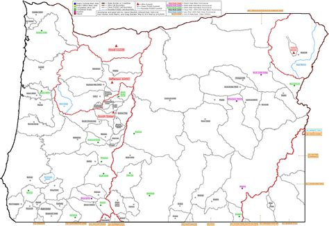 map of oregon day map of oregon mountain peaks 28 images day hikes in