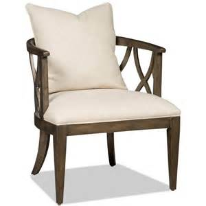 Upholstered Accent Chair Furniture Brookhaven Upholstered Accent Chair In Cherry 300 350026