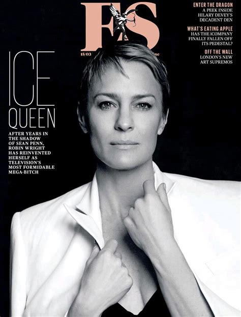 robin wright penn page interview magazine the magazine covers from great britain
