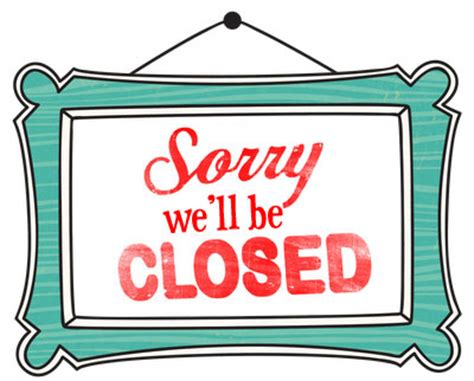 we are closed sign template daily specials