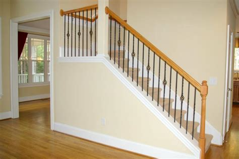 Spindle Staircase Ideas Iron Spindles Home Interior And Staircase Decoration Using Iron Staircase Spindles Contempo