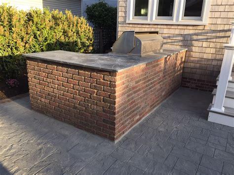 brick outdoor kitchen outdoor living of new jersey