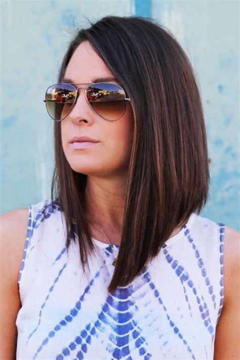 bob largo 2016 cara redonda la moda en tu cabello long bob raya lateral 2016