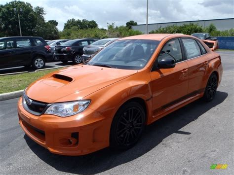 orange subaru impreza 2013 tangerine orange pearl subaru impreza wrx sti 4 door