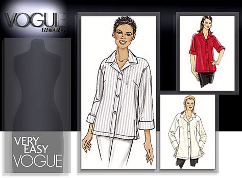pattern review vogue 9017 vogue patterns 8496 misses misses petite shirt