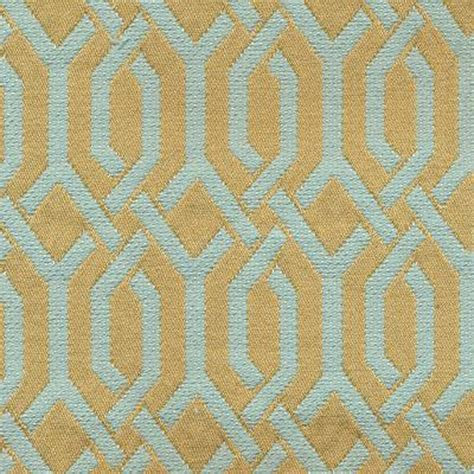 geometric fabric upholstery interlace haze cyan blue woven geometric upholstery fabric