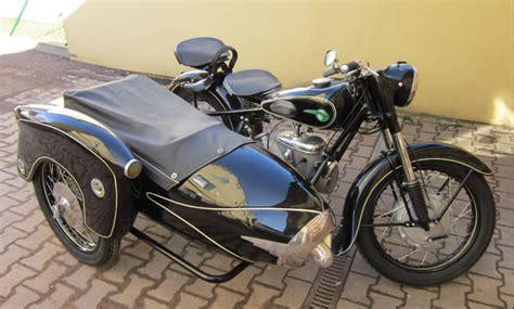 Dkw Motorrad Mit Beiwagen by Restaurierung