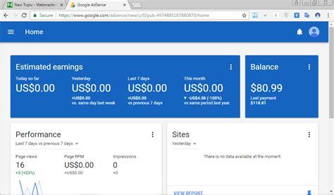 adsense nigeria nigeria verified google adsense account with 80 for sale