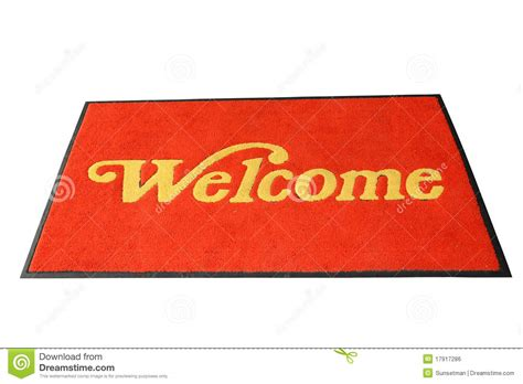 Mat Downlod by Welcome Mat Royalty Free Stock Image Image 17917286