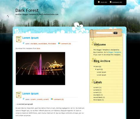 notebook templates for blogger 45 beautiful blogger templates free to use smashingapps com