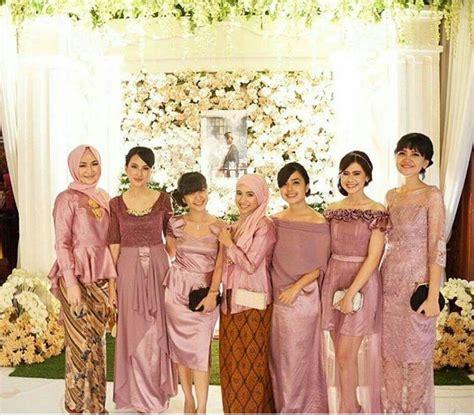 mdl kebaya seragam brokat 2017 model kebaya seragam trend 2018 pernikahan acara keluarga