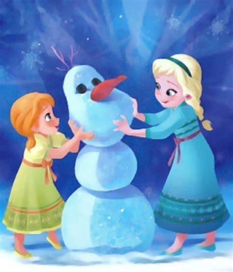 film putri elsa dan ana gambar 10 gambar disney frozen bergerak elsa dan anna animasi