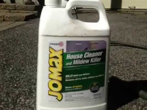 jomax house cleaner mold and mildew removal from siding and gutters eric s doovi