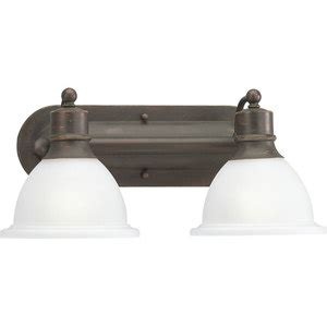 Ferguson Bathroom Lighting Pp316220 2 Bulb Bathroom Lighting Antique Bronze At Shop Ferguson