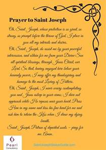 st joseph home prayer the 25 best st joseph novena ideas on novena