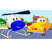 Tom The Tow Truck And Helicopter In Car City Trucks