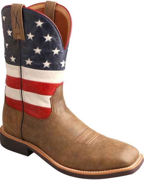 best cowboy boots twisted x american flag vfw top cowboy boots square