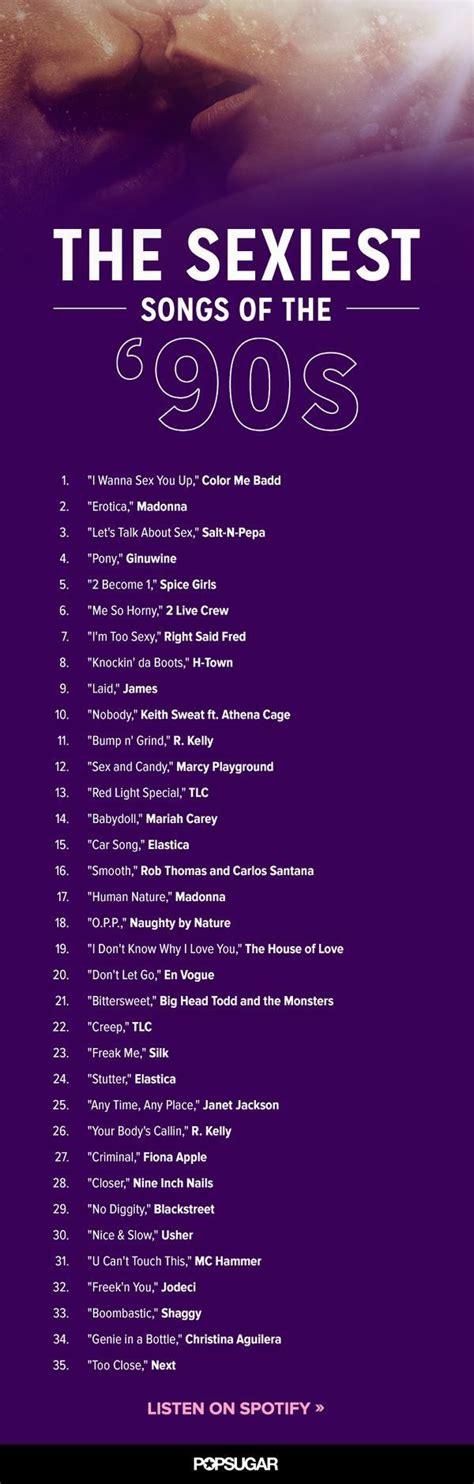 Sex song list